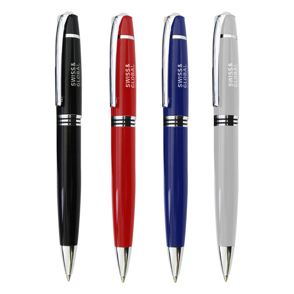 premium twist metal pen, valued gift metal ball pen