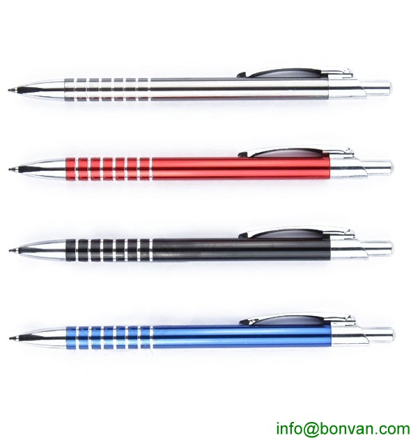 full color printed gift metal ball pen for promotion