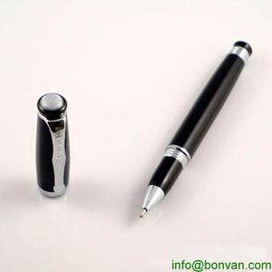 high value gift metal roller ball pen, expensive metal roller pen from China