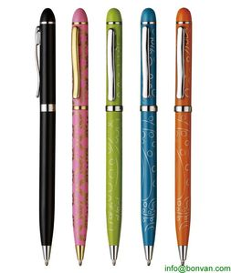 full color printed gift metal ball pen for promotion from China