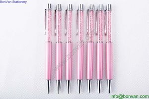 promotional printed wholesale crystal metal ballpen,china factory,metal ballpoint pen from China
