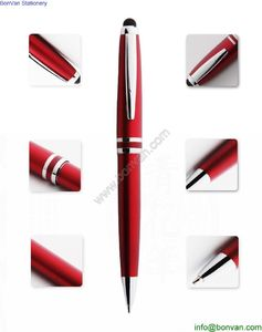 Business metal ballpoint pen business gift pen set signature pen from China