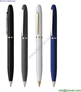 Fashion Exclusive Metal Ball Pens High Quality Gold clip metal pen from China